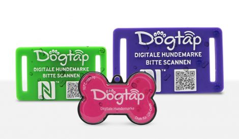 The waterproof adress tag for your dog