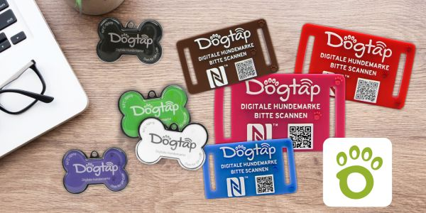 Dogtap Light und Dogtap Solid als Stapel